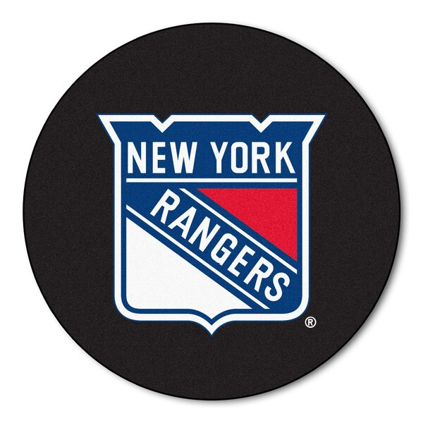 NHL - New York Rangers Puck Doormat by FANMATS