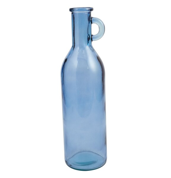 Bistro Decorative Recycled Glass Bottle Floor Vase by Mud Pie™