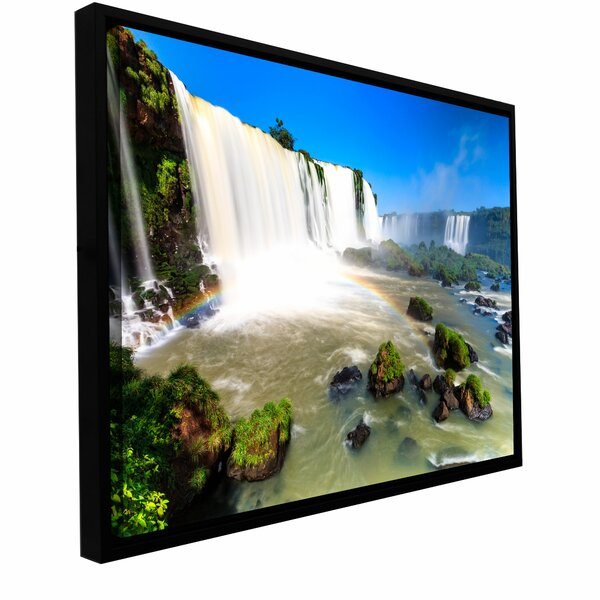 Iguassu Falls 3 by Cody York Framed Photographic Print on Wrapped Canvas by ArtWall