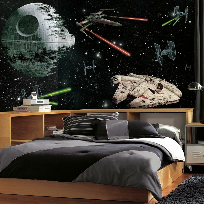 "Star Wars 10.5' x 72"" Wall Mural"