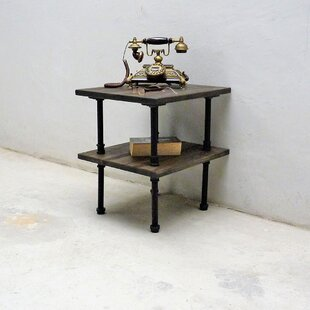 Best Cissell Industrial Chic End Table ByWilliston Forge