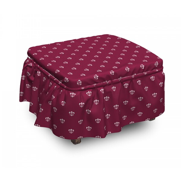 Noble Medieval Ottoman Slipcover (Set Of 2) By East Urban Home
