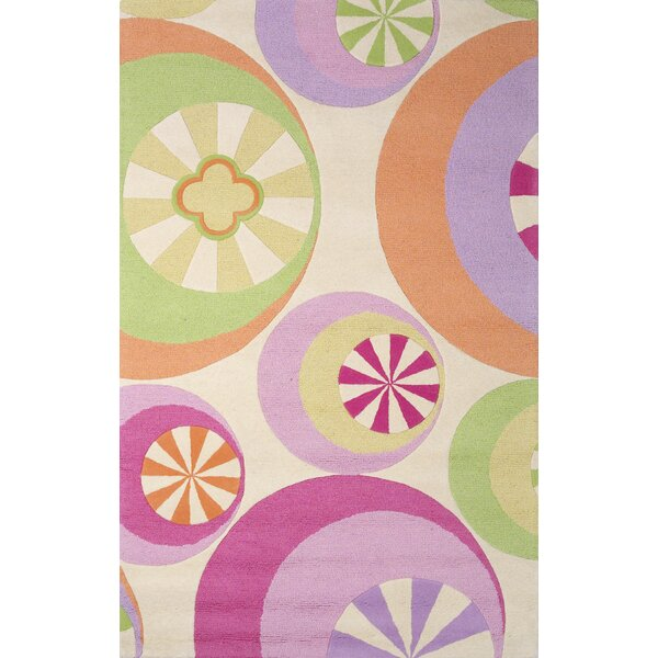 Candy Lane Hand-Woven Pastel Rug by Birch Lane Kids™
