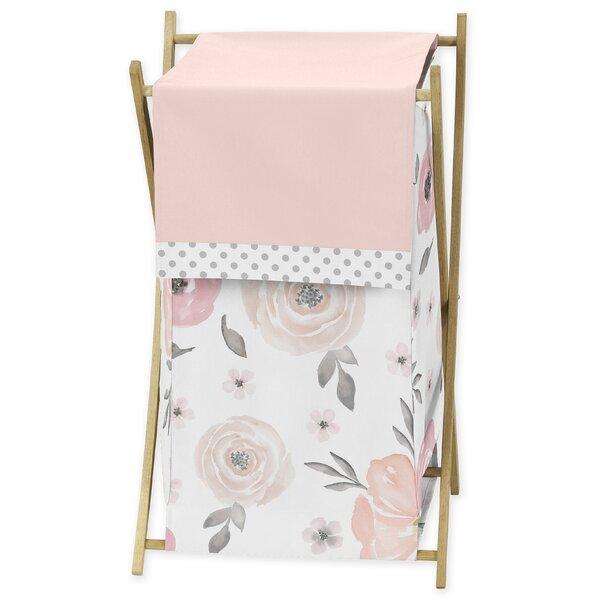 Floral Laundry Hamper by Sweet Jojo Designs