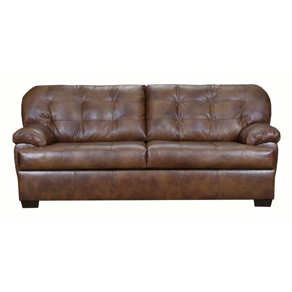 Askerby Leather Sofa By Red Barrel Studio