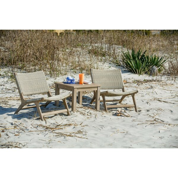 Arden Teak Patio Chair (Set of 2) by Corrigan Studio