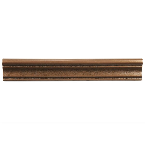 Milton 12 X 2 Metal Counter Rail Tile Trim In Onda Bronze Set Of 5 By Elitetile Nevertheless I Hope Until This Reviews About It