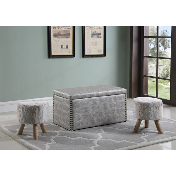 Mccleery Storage Ottoman by House of Hampton