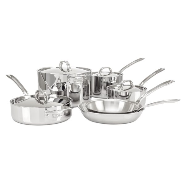 10-Piece Cookware Set by Viking