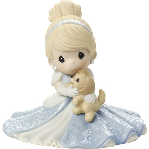 Disney Showcase A Friend Fit For A Princess Cinderella Figurine by Precious Moments
