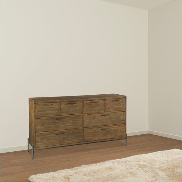 Aliceville 6 Drawer Double Dresser by Foundry Select