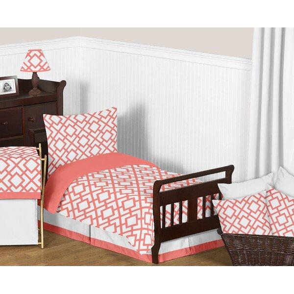 Mod Diamond 5 Piece Toddler Bedding Set by Sweet Jojo Designs