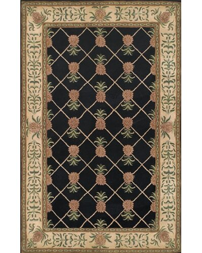 Cape May Hand-Tufted Wool Black/Ivory Area Rug