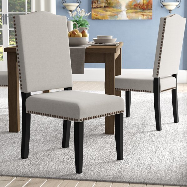 Montecito Upholstered Dining Chair (Set of 2) by Alcott Hill
