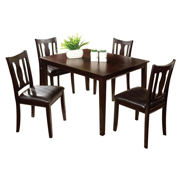 Roemer 5 Piece Dining Set by Charlton Home