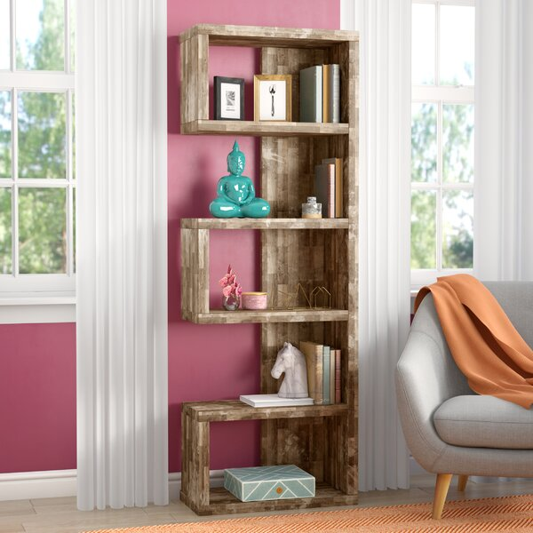 Frostia Standard Bookcase by Mercury Row| @ $157.99