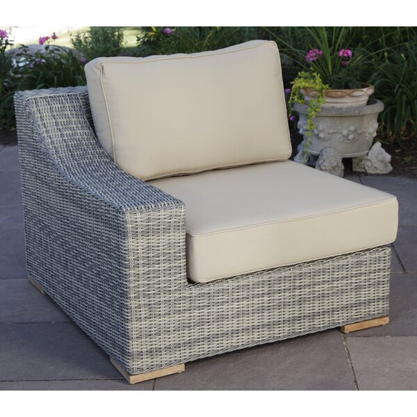 Corsica Left Arm Chair with Cushions by Madbury Road