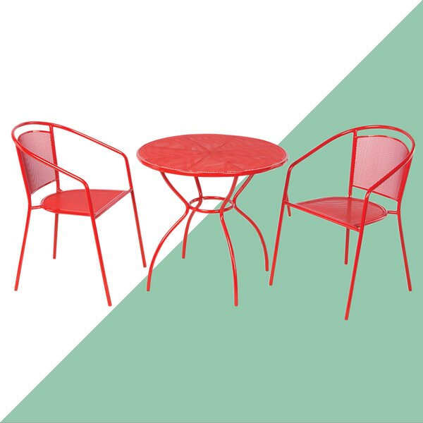 Latorre 3 Piece Bistro Set by Brayden Studio