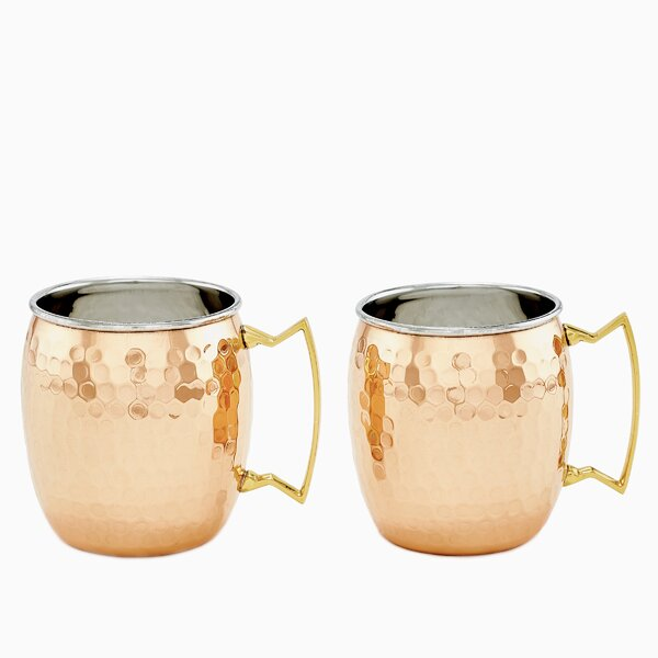 16 Oz. Moscow Mule Mug (Set of 2) by Old Dutch International