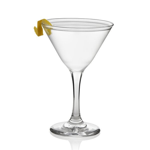 Party 7.5 oz. Glass Martini Glass (Set of 12) by Libbey