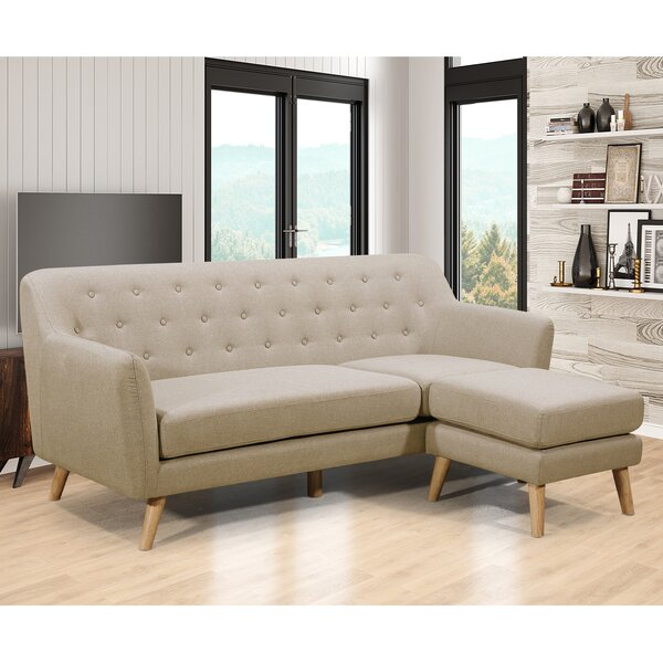 Blazer Sectional with Ottoman by George Oliver