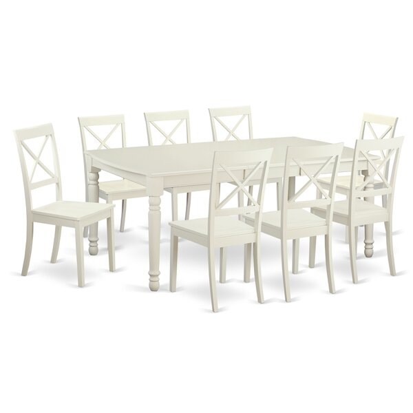 Pimentel 9 Piece Dining Set by August Grove August Grove