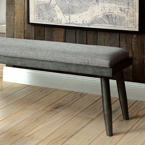 Armijo Upholstered Bench by Foundry Select