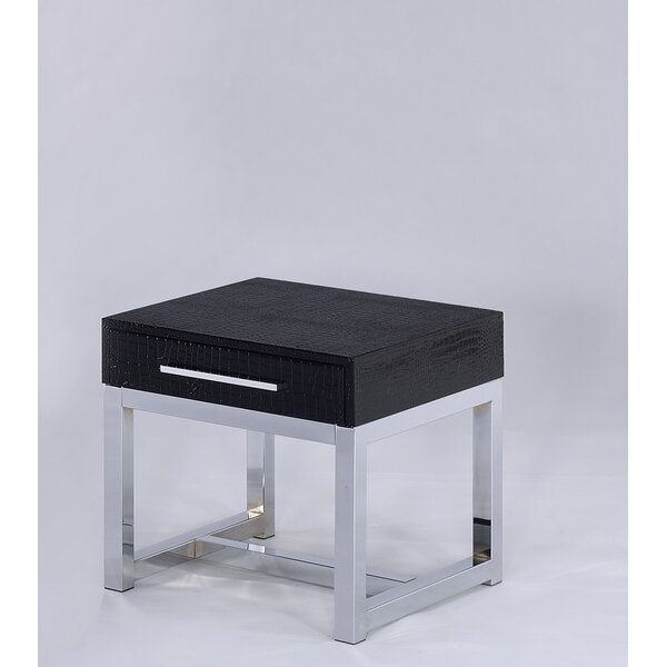 Emilia End Table With Storage By Orren Ellis