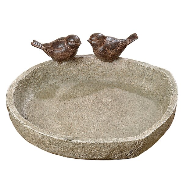 Sparrow Birdbath by Whole House Worlds