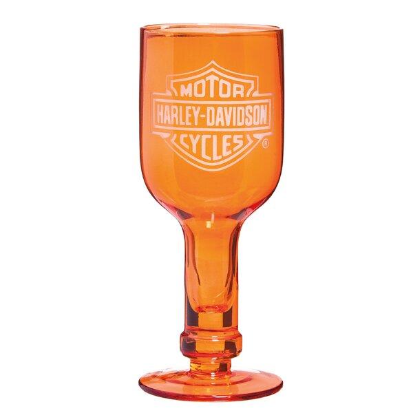 Harley-Davidson® 14 oz. Wine Glass (Set of 4) by Evergreen Enterprises, Inc