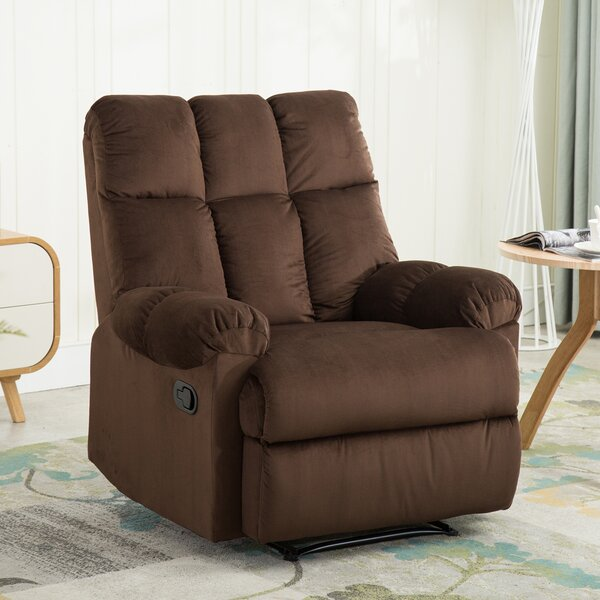 Halloway Manual Recliner by Winston Porter