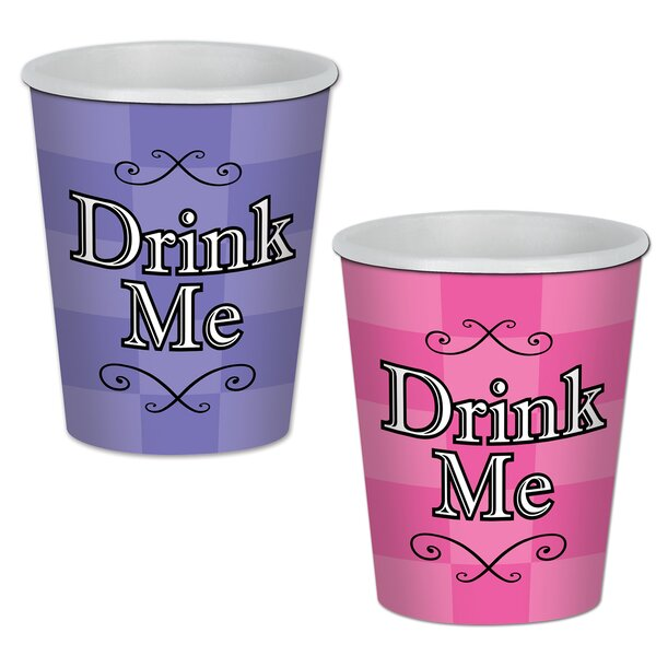 Alice In Wonderland Beverage Cup (Set of 8) by The Beistle Company
