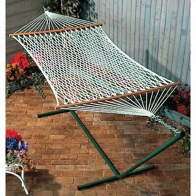 Lawson Polyester Rope Hammock by Beachcrest Home