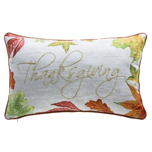 Lashley Thanksgiving Lumbar Pillow by Three Posts