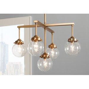 Suffield 5-Light Sputnik Chandelier