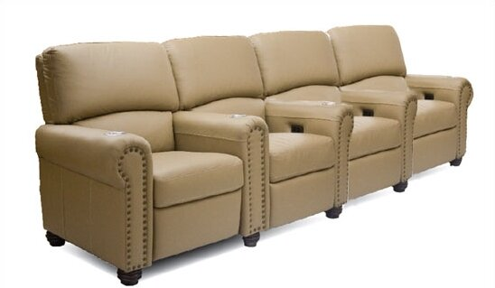 Showtime Home Theater Lounger (Row Of 4) By Bass