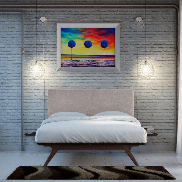 Arabella Upholstered Platform Bed by Modern Rustic Interiors