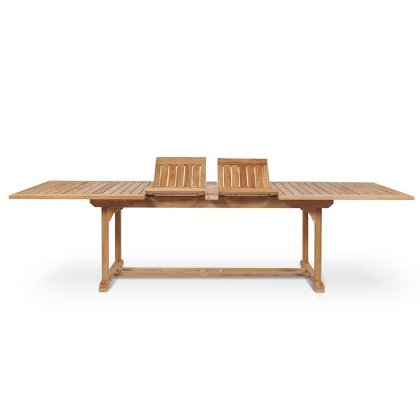Rectangular Extendable Teak Dining Table by HiTeak Furniture
