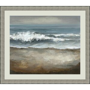 Breaking Away Framed Painting Print by Global Designs