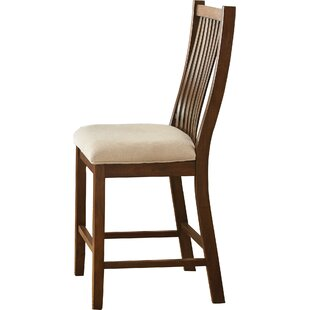 Top Reviews Quaker Counter Height Dining Chairs (Set of 2) by Alcott Hill