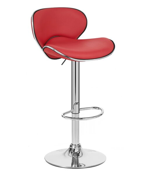Kappa Adjustable Height Swivel Bar Stool by Vandue Corporation