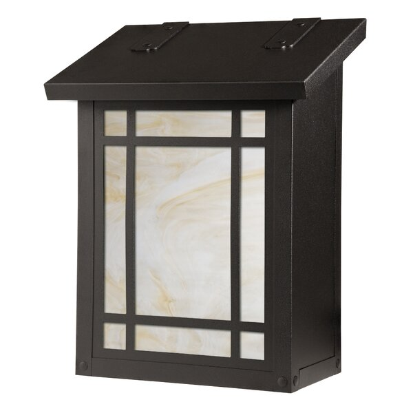 Summit Wall Mounted Mailbox by America's Finest Lighting Company