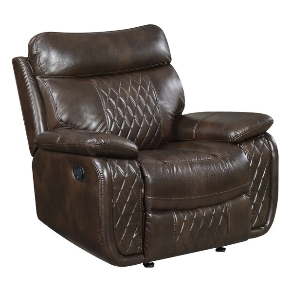 Courtois Manual Glider Recliner By Winston Porter