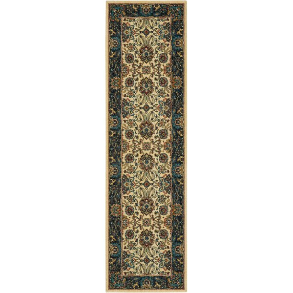 Madrid Brown Area Rug by Charlton Home