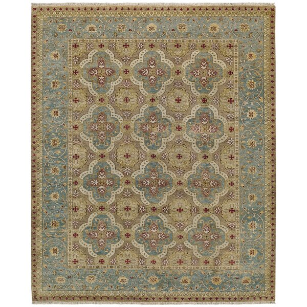Brandon Hand Knotted Ocean Area Rug by Capel Rugs