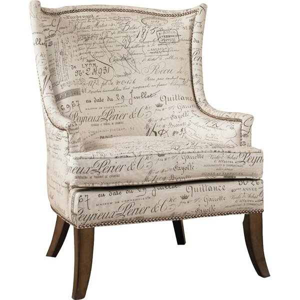 Sanctuary Wingback Chair by Hooker Furniture