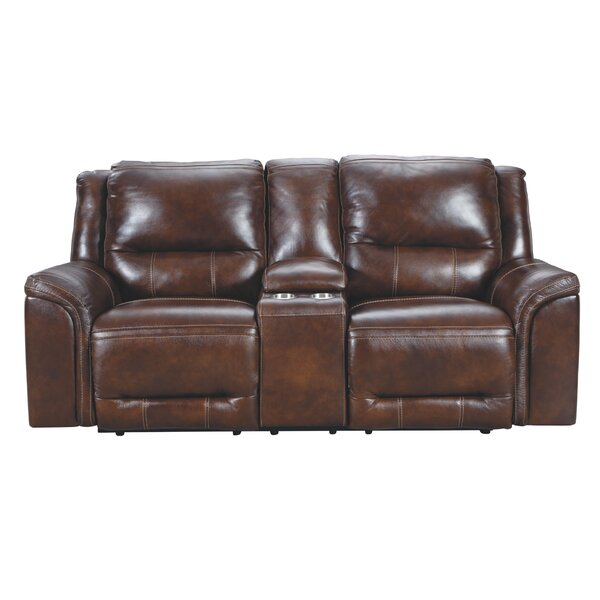 Dunkin Reclining Loveseat By Millwood Pines