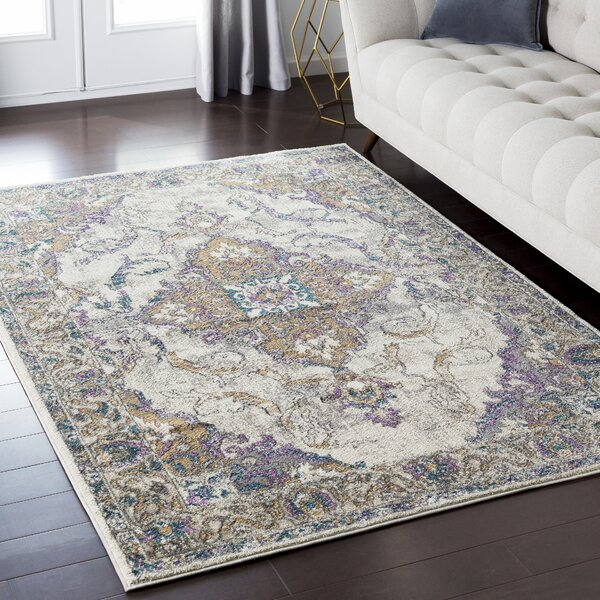 Alpharetta Gray Area Rug by Bungalow Rose