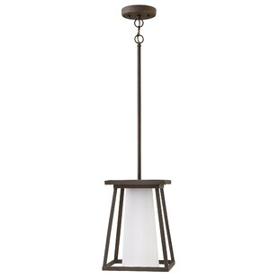 Compare Propst 1-Light Outdoor Mini Pendant By Brayden Studio