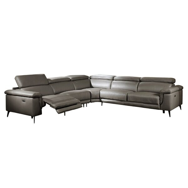 Philippa Reclining Sectional by Orren Ellis Orren Ellis